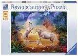 Puzzle Unicorni, 500 Piese Ravensburger