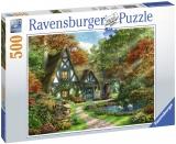 Puzzle Cabana Toamna, 500 Piese Ravensburger