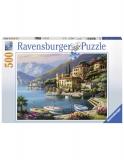 Puzzle Coasta Italiei, 500 Piese Ravensburger