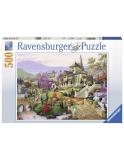 Puzzle Vila, 500 Piese Ravensburger