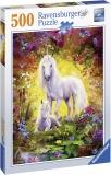 Puzzle Unicorn Si Manz, 500 Piese Ravensburger
