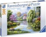 Puzzle Priveliste Lac, 500 Piese Ravensburger