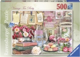 Puzzle Petrecere Cu Ceai, 500 Piese Ravensburger