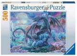 Puzzle Dragon Mistic, 500 Piese Ravensburger