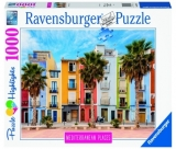 Puzzle Spania Mediteraneana, 1000 Piese Ravensburger