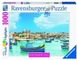 Puzzle Malta Mediteraneana, 1000 Piese Ravensburger