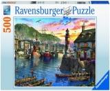 Puzzle Port La Rasarit, 500 Piese Ravensburger