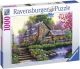 Puzzle Cabana Romantica, 1000 Piese Ravensburger