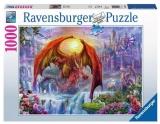 Puzzle Tinutul Dragonilor, 1000 Pcs Ravensburger