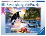 Puzzle Balene, 1000 Piese Ravensburger