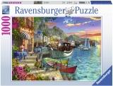 Puzzle Grecia, 1000 Piese Ravensburger