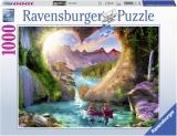 Puzzle Pestera Forma Inima, 1000 Piese Ravensburger