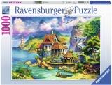 Puzzle Casa Lui Cliff, 1000 Piese Ravensburger