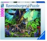 Puzzle Familie Lupi, 1000 Piese Ravensburger