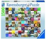 Puzzle 99 Biciclete, 1500 Piese Ravensburger
