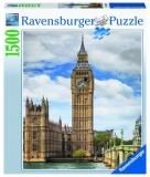 Puzzle Pisica In Big Ben, 1500 Piese Ravensburger