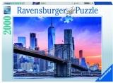 Puzzle Apus Pod New York, 2000 Piese Ravensburger
