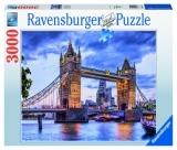 Puzzle Priveliste Pod Londra, 3000 Piese Ravensburger