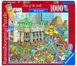 Puzzle Fleroux Rio De Janeiro, 1000 Piese Ravensburger