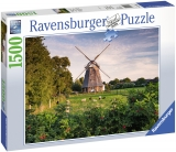 Puzzle Moara De Vant, 1500 Piese Ravensburger