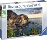 Puzzle Cinque Terre, 1500 Piese Ravensburger