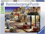 Puzzle Un Colt Secret Din Paris,1500 Piese Ravensburger