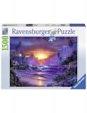 Puzzle Rasarit Paradis, 1500 Piese Ravensburger