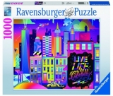 Puzzle New York Colorat, 1000 Piese Ravensburger