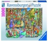 Puzzle Noapte In Librarie, 1000 Pcs Ravensburger
