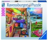 Puzzle Priveliste Din Rulota, 1000 Piese Ravensburger