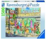 Puzzle Magazin Fashion, 1500 Piese Ravensburger