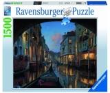 Puzzle Canal Venetia, 1500 Piese Ravensburger