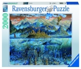 Puzzle Balena Fantastica, 2000 Piese Ravensburger