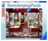 Puzzle Magazin De Arte, 3000 Piese Ravensburger