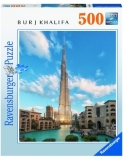 Puzzle Burj Khalifa Dubai, 500 Piese Ravensburger