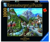Puzzle Orasul Banff, 1000 Piese Ravensburger