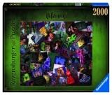 Puzzle Villainous Personaje, 2000 Piese Ravensburger