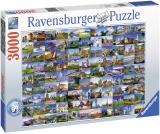 Puzzle Europa 99 Locuri, 3000 Piese Ravensburger