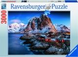 Puzzle Hamnoy, 3000 Piese Ravensburger