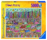 Puzzle James Rizzi, 5000 Piese Ravensburger