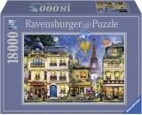 Puzzle Plimbare Prin Paris, 18000 Piese Ravensburger