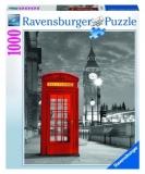 Puzzle Cabina Telefon Big Ben, 1000 Piese Ravensburger