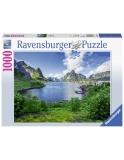 Puzzle Portul Lofoten, 1000 Piese Ravensburger