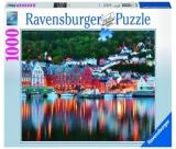 Puzzle Orasul Bergen, 1000 Piese Ravensburger