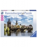 Puzzle Podul Charles, 1000 Piese Ravensburger
