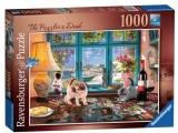 Puzzle Birou Cu Puzzle, 1000 Piese Ravensburger