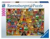 Puzzle Alfabet, Litera A, 1000 Piese Ravensburger