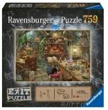 Puzzle Exit 3: Bucataria Vrajitoarei, 759 Piese Ravensburger