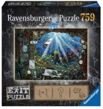 Puzzle Exit 4: In Submarin, 759 Piese Ravensburger