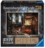 Puzzle Exit 5: Laboratorul Vrajitorului, 759 Piese Ravensburger